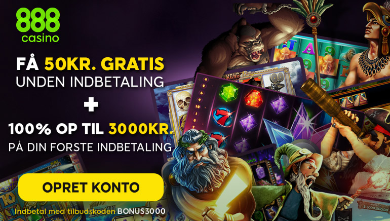 888 Casino Har et Særligt Tilbud til Nye Danske Spillere