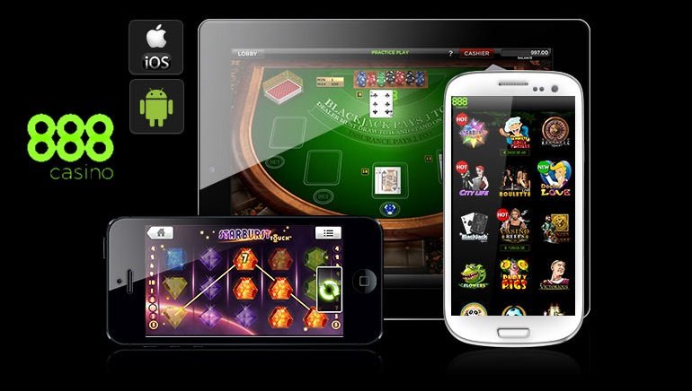 888 Casino har en fantastisk mobil website