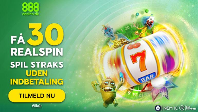 Ny velkomstbonus introduceret på 888 Casino for danske spillere