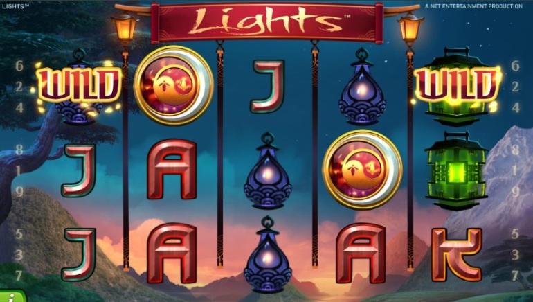 """Nyt spil: Net Entertainment tænder """"Lights"""""""