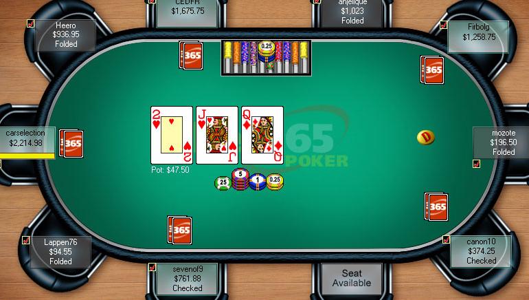 Danskerne spiller udelukkende online poker på bet365