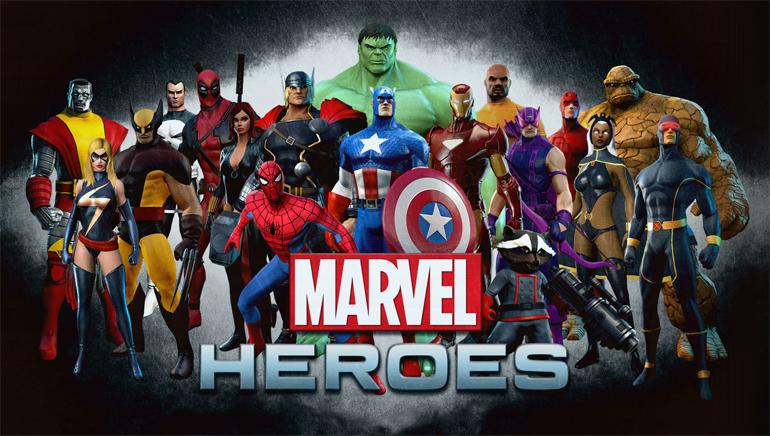 Slut dig til Marvel heltene på det online kasino