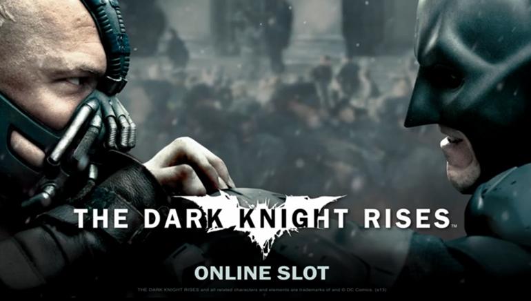 Batman: The Dark Knight snart på online casinoer