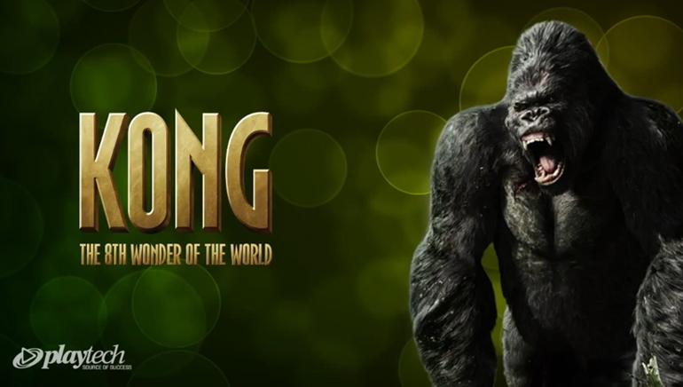 King Kong bliver levende på Netkasinoer
