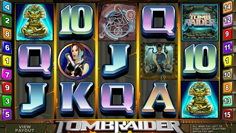 Microgaming Casinoer får nye Lara Croft Spillemaskiner i 2019