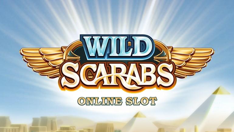 Slotmaskiner anmeldelse:Wild Scarabs af Microgaming